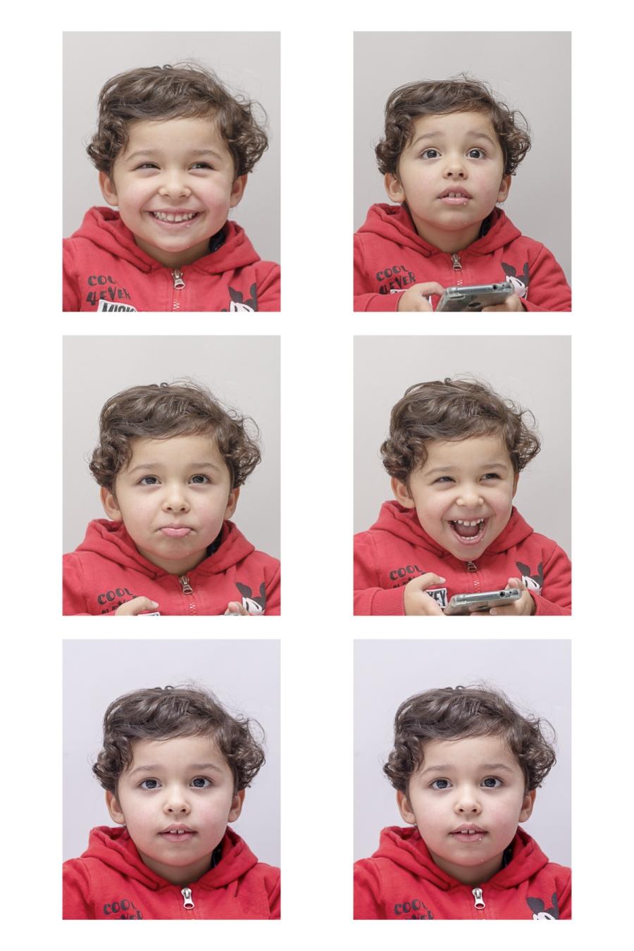 photos d'identité de bébés ou de jeunes enfants dans les Yvelines 78