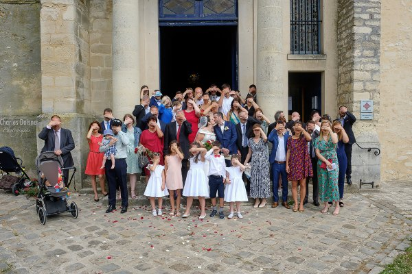 Le reportage photo de mariage en groupe 1