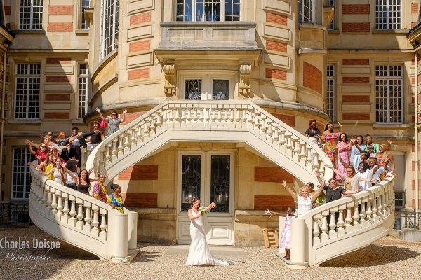 Le reportage photo de mariage en groupe 2