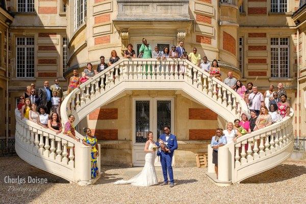 Le reportage photo de mariage en groupe 3