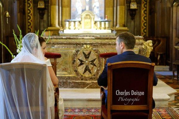 Photos de mariage a lEglise 1