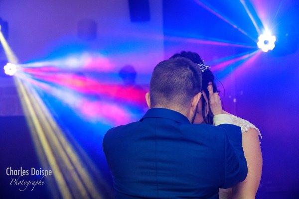 Photos de mariage durant le bal 1