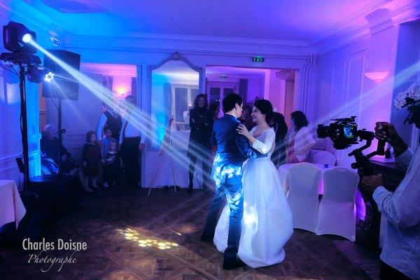 Photos de mariage durant le bal 2