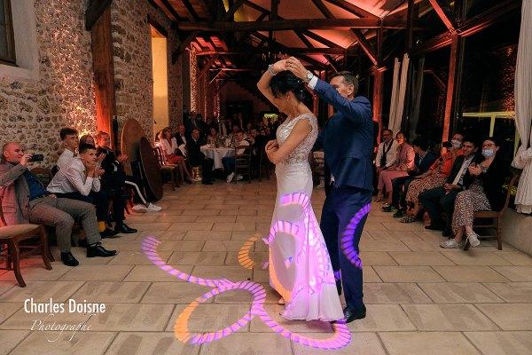 Photos de mariage durant le bal 4