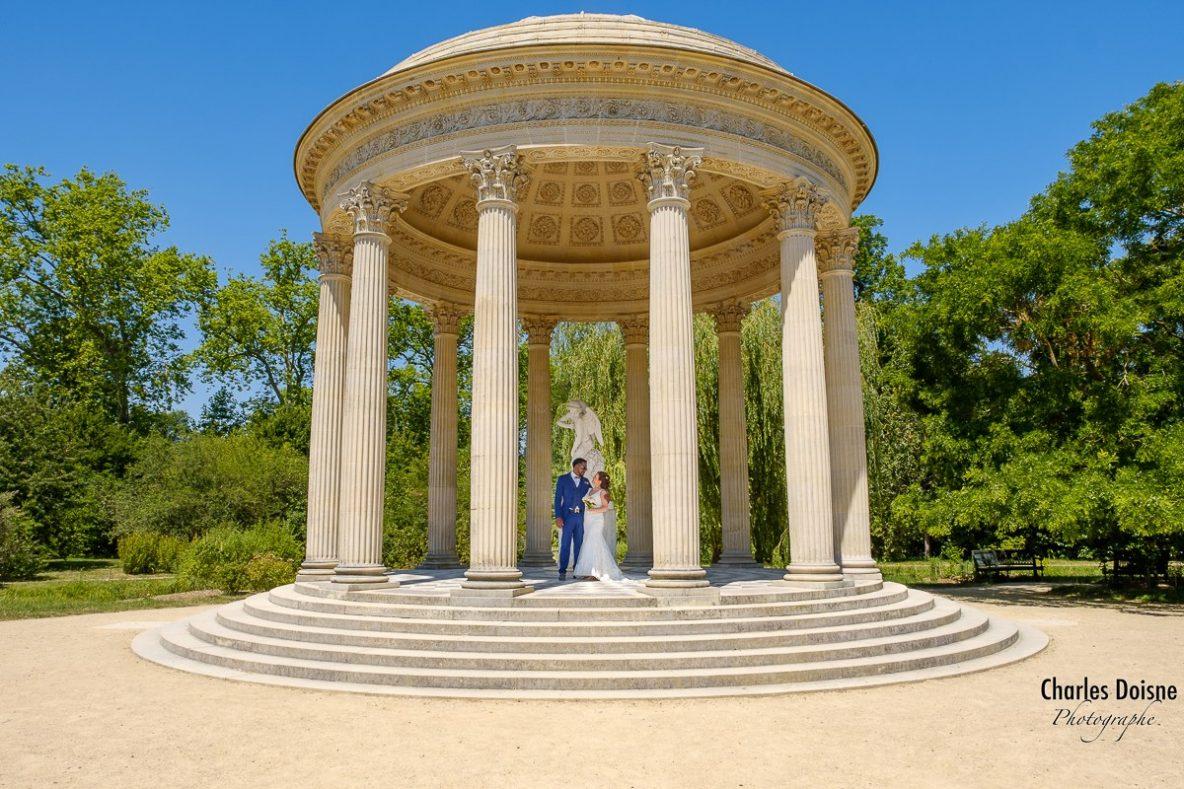 Photographe de mariage a Versailles